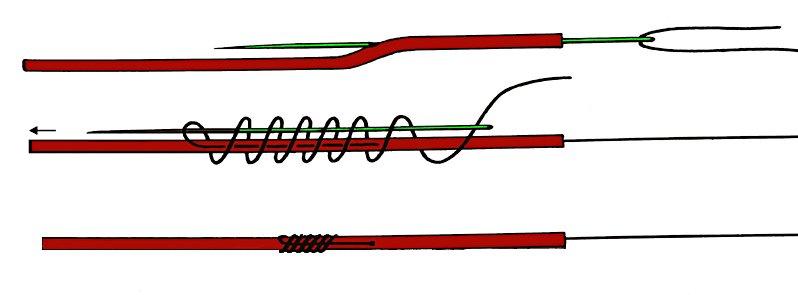 Leadcore Needle--knot